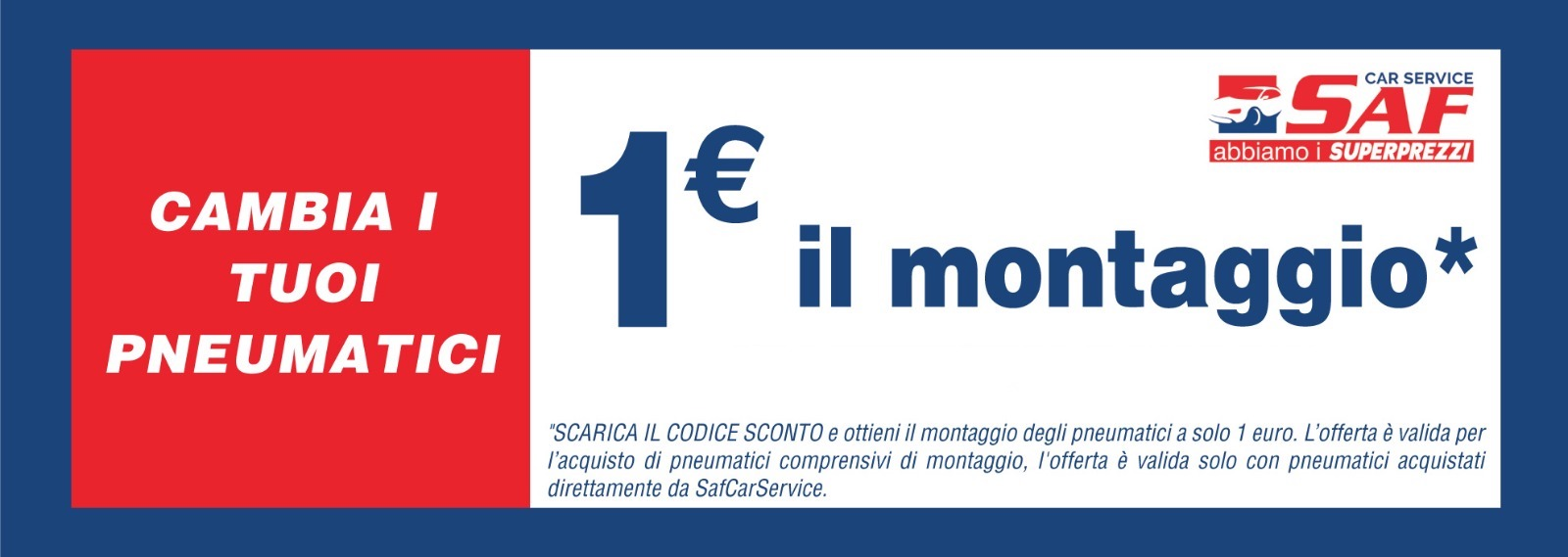 offerta montaggio 1€
